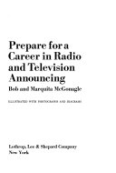Prepare for a career in radio and television announcing