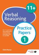 11+ Verbal Reasoning Practice Papers