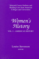 Women s History  American history Book PDF