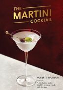 Pdf The Martini Cocktail