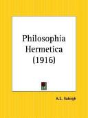 Philosophia Hermetica 1916