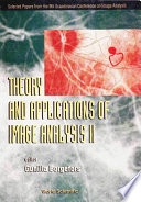 Theory And Applications Of Image Analysis Ii Book PDF