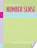 Teaching Number Sense  Grade 1 Book PDF