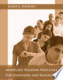 Modeling Random Processes For Engineers And Managers Book PDF