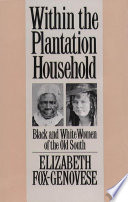 Within the Plantation Household  : Black and White Women of the Old South