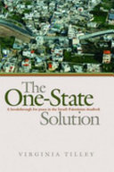 The One state Solution