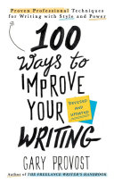 100 Ways to Improve Your Writing (Updated)