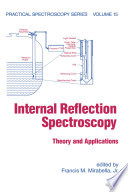 Internal Reflection Spectroscopy
