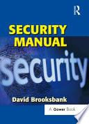 Security Manual