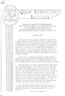 Grain Inspectors  Letter