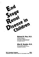 End Stage Renal Disease in Children Book