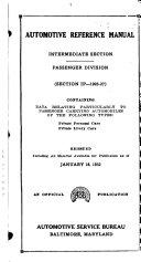 Automotive Reference Manual