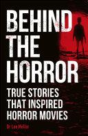 Behind the Horror Pdf/ePub eBook