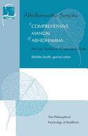 A Comprehensive Manual of Abhidhamma Book
