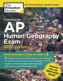Cracking the AP Human Geography Exam  2020 Edition Book