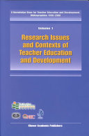 Research Issues and Contexts of Teacher Education and Development