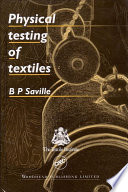 Physical Testing of Textiles Book