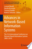 Advances in Network Based Information Systems Book