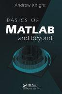 Basics of MATLAB and Beyond Pdf/ePub eBook