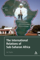 The International Relations of Sub-Saharan Africa