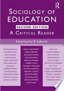 Sociology of Education  : A Critical Reader