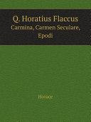 Q. Horatius Flaccus Pdf/ePub eBook