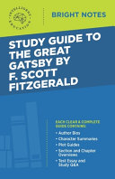Study Guide To The Great Gatsby By F Scott Fitzgerald