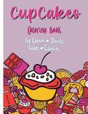 Cupcakes Coloring Book
