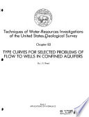 Techniques Of Water Resources Investigations Of The United States Geological Survey Chap B1 Aquifer Test Design Observation And Data Analysis