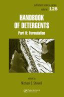 Handbook of Detergents, Part D