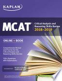 MCAT Critical Analysis and Reasoning Skills Review 2018 2019