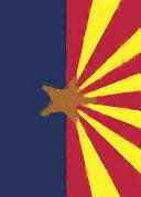 Arizona Flag Watercolor Sketchbook