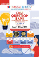 Pdf Oswaal CBSE Question Bank Class 9 Mathematics Book Chapterwise & Topicwise Includes Objective Types & MCQ's (For 2022 Exam) Telecharger