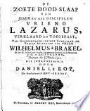 De Zoete Dood Slaap Van Jesus En Der Discipelen Vriend Lazarus