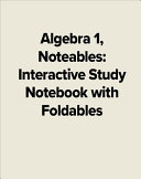 Algebra 1  Noteables  Interactive Study Notebook with Foldables