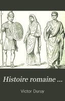 Histoire romaine ...