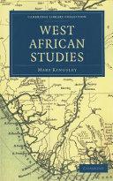 West African Studies ebook