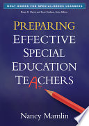 Preparing Effective Special Education Teachers