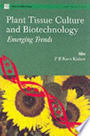 Plant Tissue Culture and Biotechnology