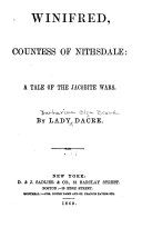Winifred  Countess of Nithsdale