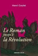 Pdf Le Roman jusqu'à la Révolution Telecharger