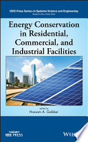 Energy Conservation in Residential  Commercial  and Industrial Facilities Book
