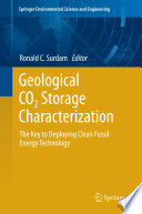 Geological CO2 Storage Characterization Book