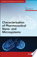 Characterization of Pharmaceutical Nano  and Microsystems Book