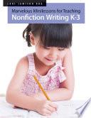 Marvelous Minilessons for Teaching Nonfiction Writing K   3