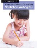 Marvelous Minilessons for Teaching Nonfiction Writing K–3