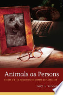 Animals as Persons Book