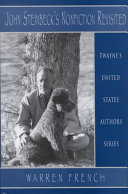 John Steinbeck s Nonfiction Revisited Book