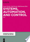Systems Automation And Control Book PDF