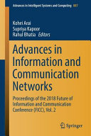 Advances in Information and Communication Networks